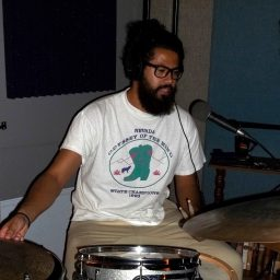 Adrian Rodriguez , drums for the Doctors of Feel Good on the Worst Little Podcast 05 06 2016