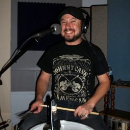 Danny Horton, drummer for Dusty Miles and the Cryin'Shame
