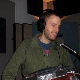 Brendan Dalton, drummer for Pink Awful